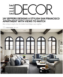 Elle Decor - Jay Jeffers - The Madrona